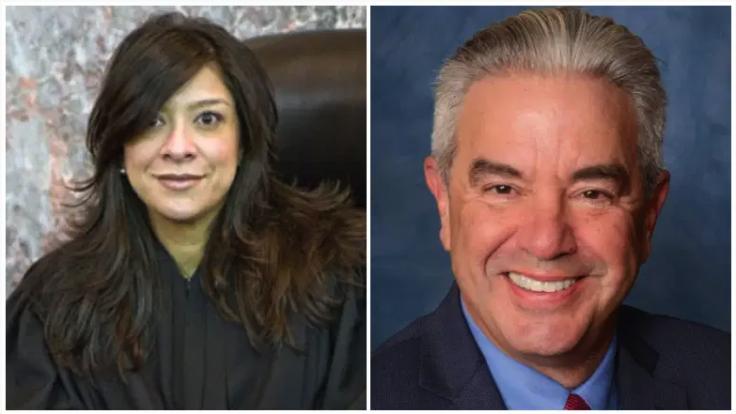 Judge Esther Salas and her husband