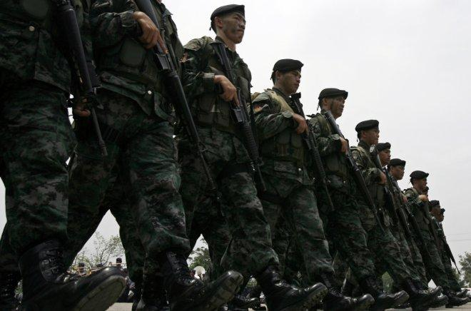 Indonesian Navy seizes used 'SAF' camouflage uniforms found among smuggled goods in Batam