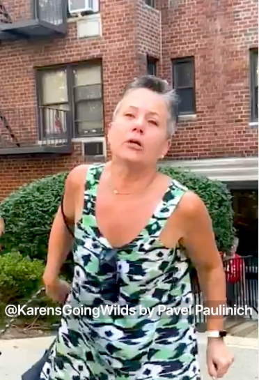 Bronx racist woman