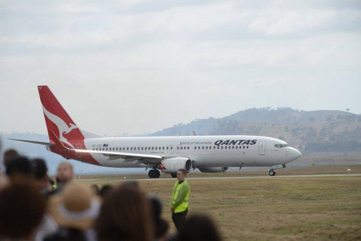 Qantas Boeing 737