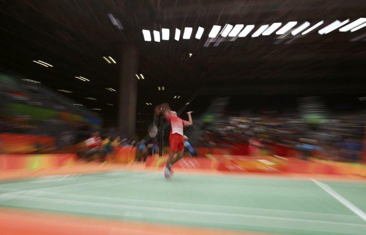Singapore badminton
