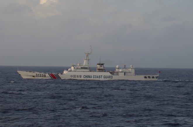 Chinese coast guard ships sail near disputed East China Sea isles, second time in a week