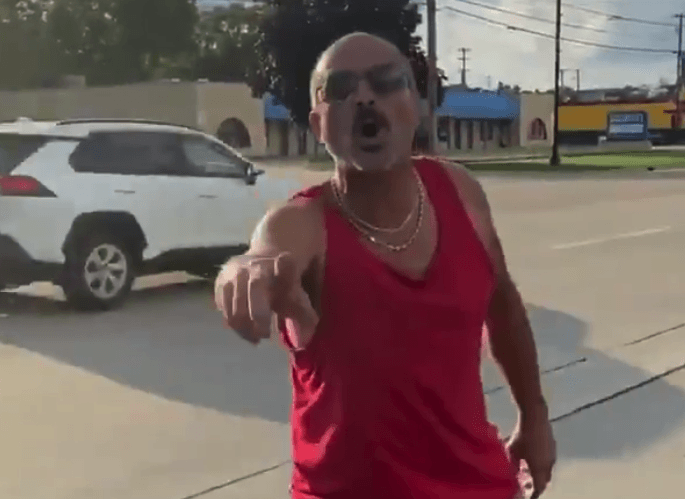 Man harasses young woman