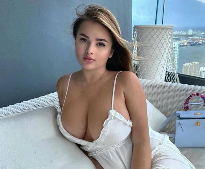 Anastasiya Kvitko Stuns in White