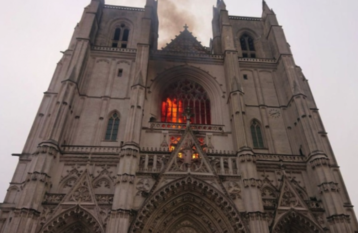 Nantes Cathedral Fire