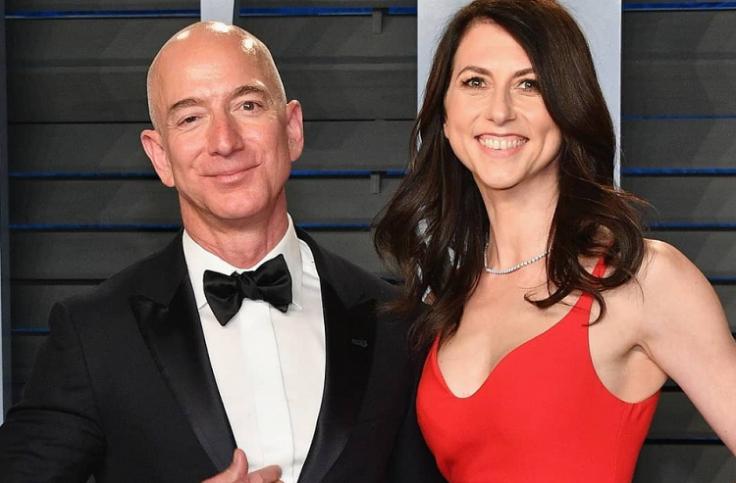 Mackenzie Bezos changes her last name