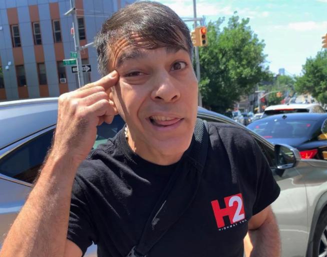 Racist Brooklyn Cyclist
