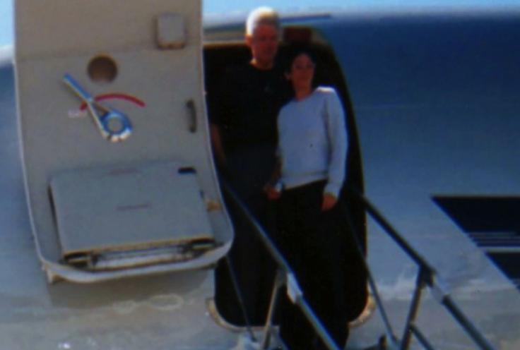 Bill Clinton and Ghislaine Maxwell