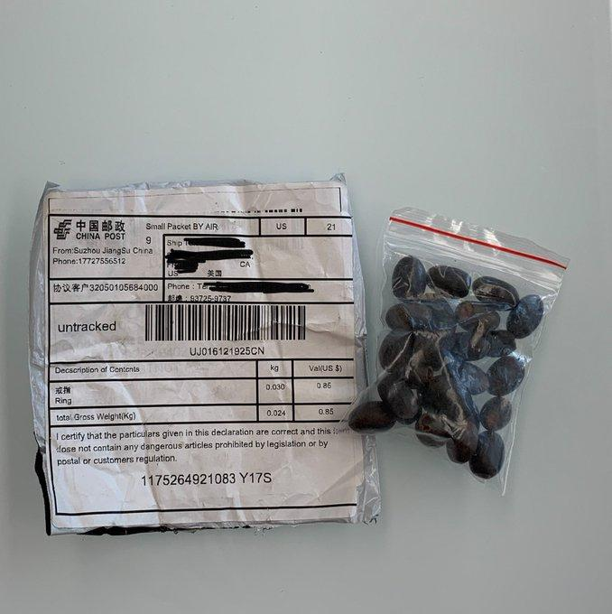 China Mails Mystery Seeds