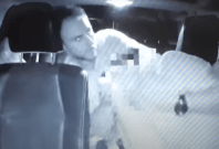 Travis smith attacking lyft driver