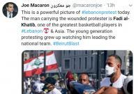 Fadi El-Khatib who lost his home and business in the Beirut blast has been asking people to gather on the streets in large number and root out corruption