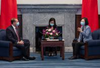 Alex Azar's visit to Taiwan