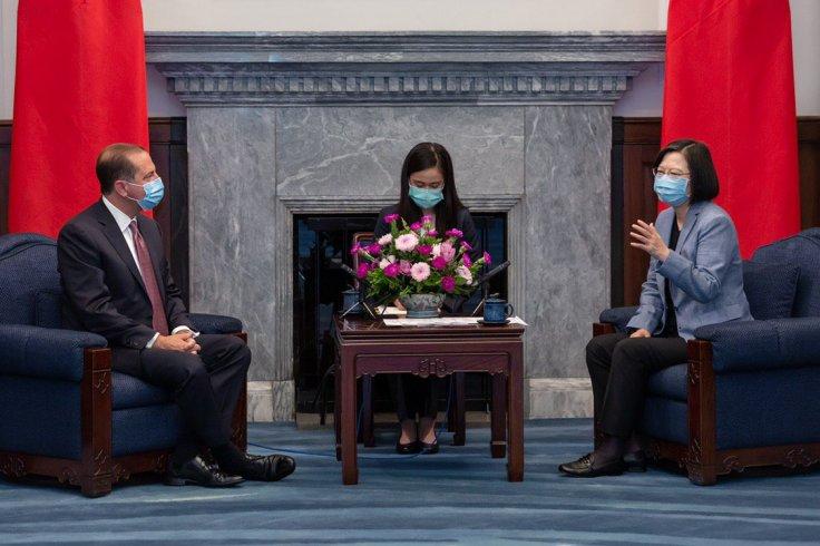 Alex Azar's visit to Taiwan