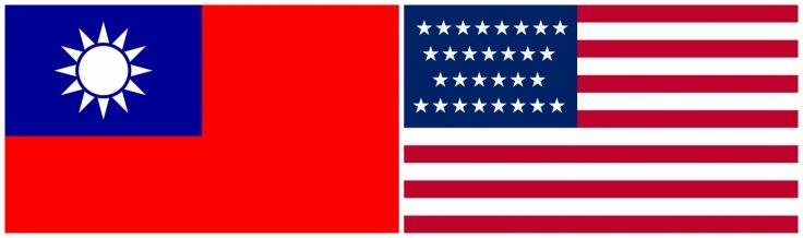 Taiwan-US flag