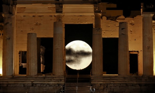 November Supermoon: Striking visuals of the closest full moon until 2034