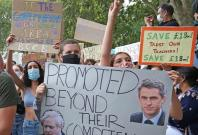 A Level protests