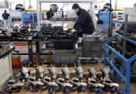 China factory assembly line