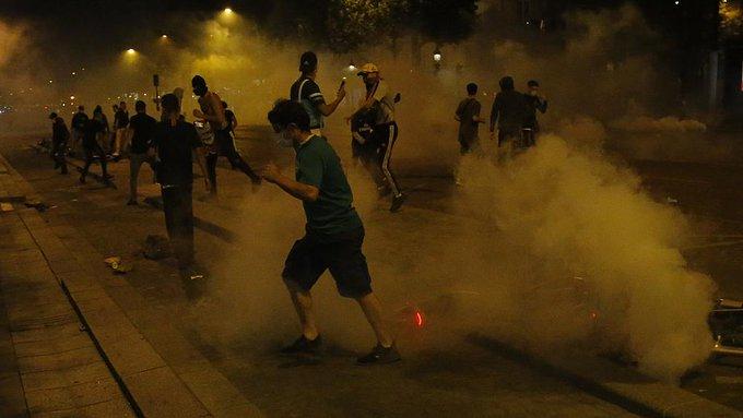 PSG riots