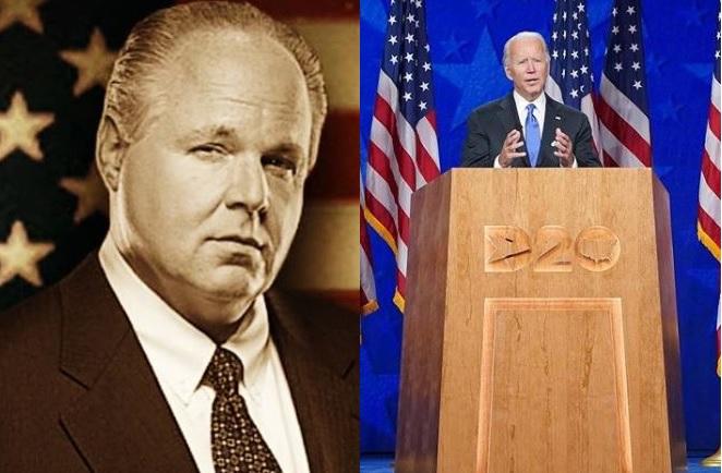 Rush Lambaugh Joe Biden