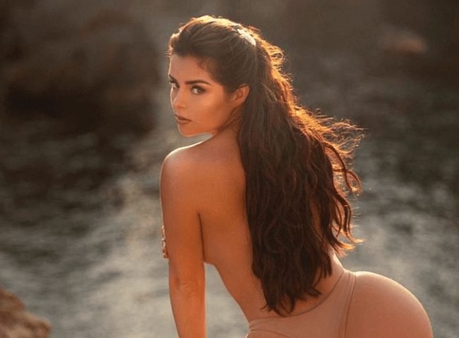 Demi Rose Dares To Go Nude