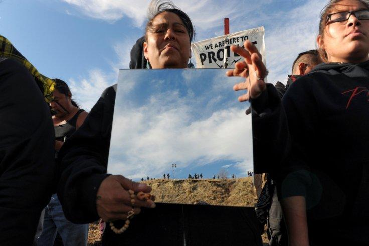Dakota pipeline protestors