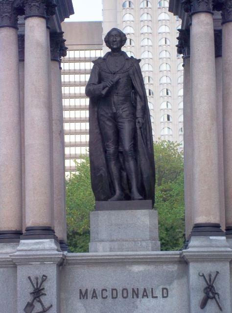 Sir John A Macdonald Monument Montreal