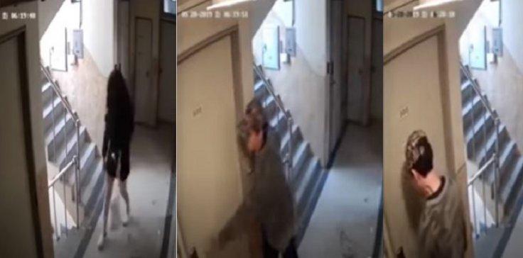 CCTV break in