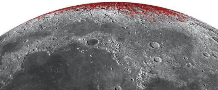 Hematite in Moon