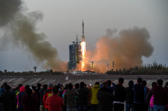 Shenzhou-11 spacecraft returns after China's longest-ever manned space mission