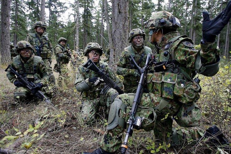 Japan's self-defense force