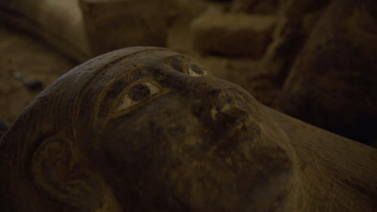 Egypt coffins