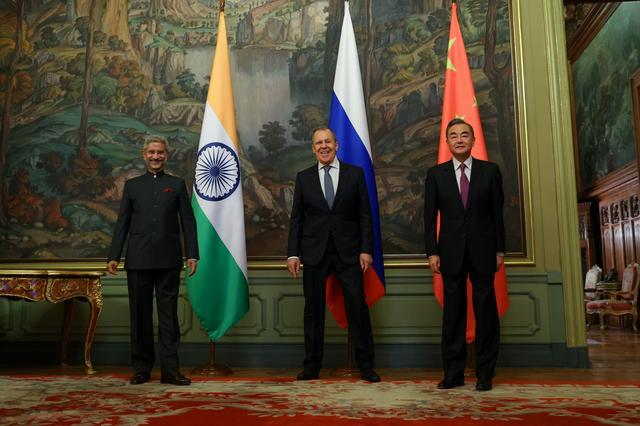 India China discussion in Moscow