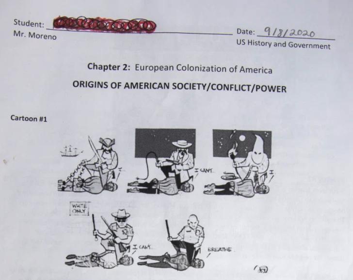 controversial cartoon