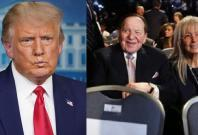 Donald Trump Sheldon Adelson Mariam