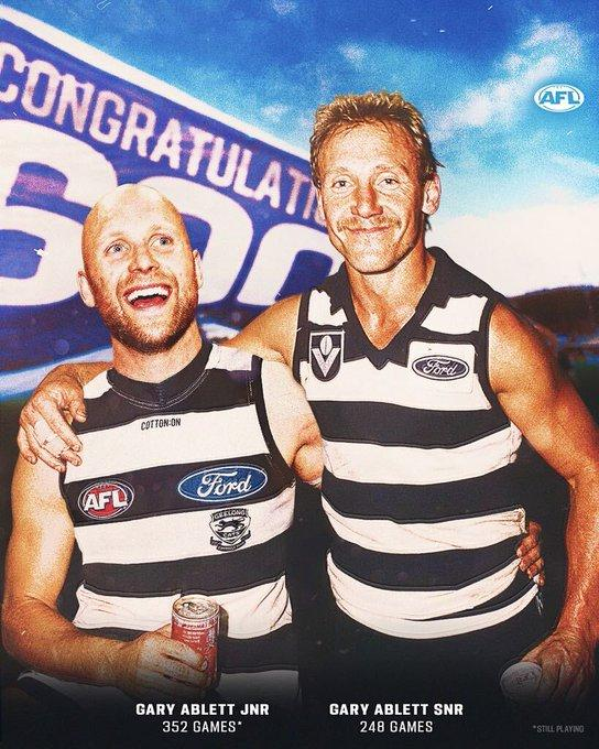 Gary Ablett Sr and Gary Ablett Jr