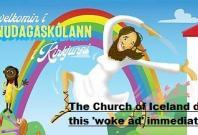 Woke ad of Jesus