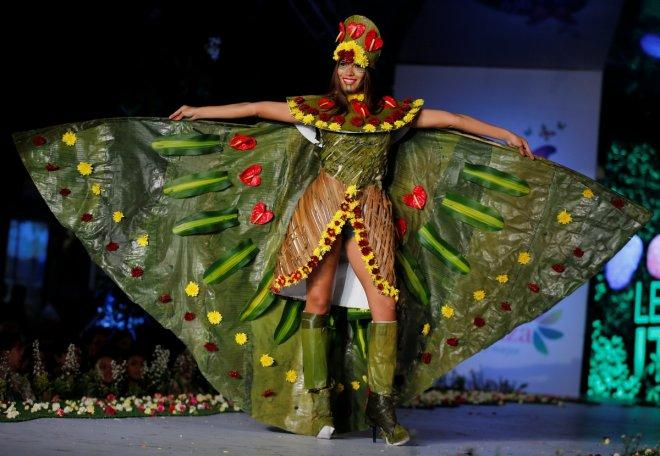 Glimpses of Biofashion show 2016 in Cali, Colombia