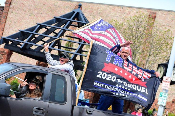 Alamance County Trump Convoy