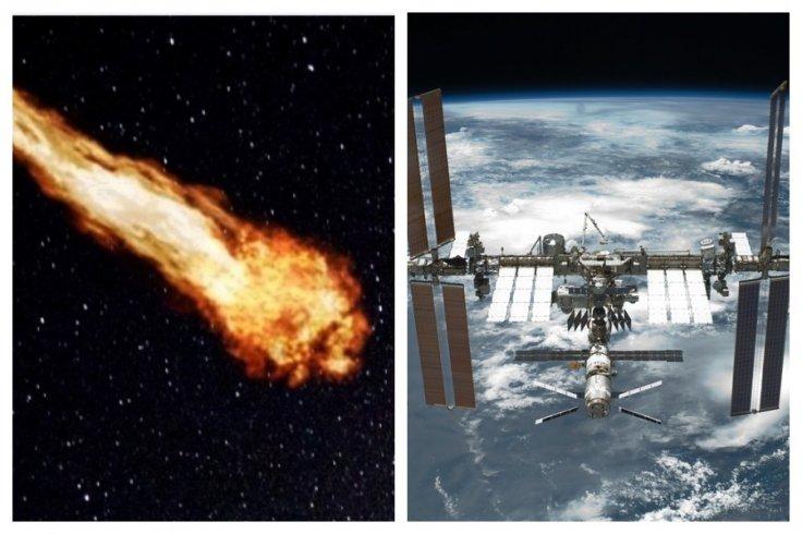 ISS Space Debris