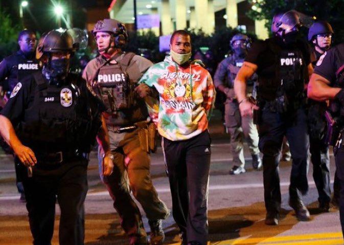 Louisville protest suspect