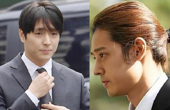 Choi Jong Hoon and Jung Joon Young