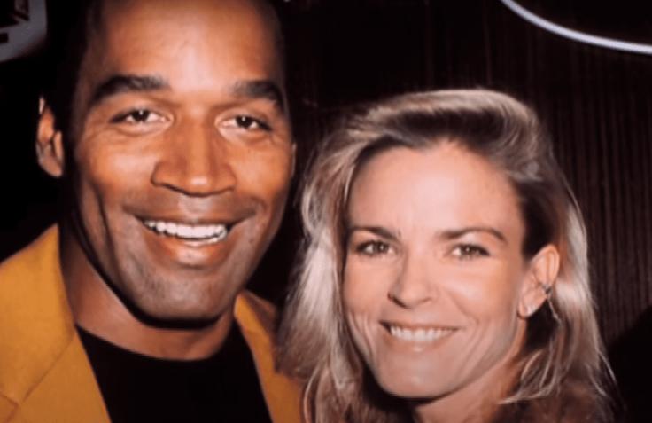 OJ Simpson and Nicole Brown