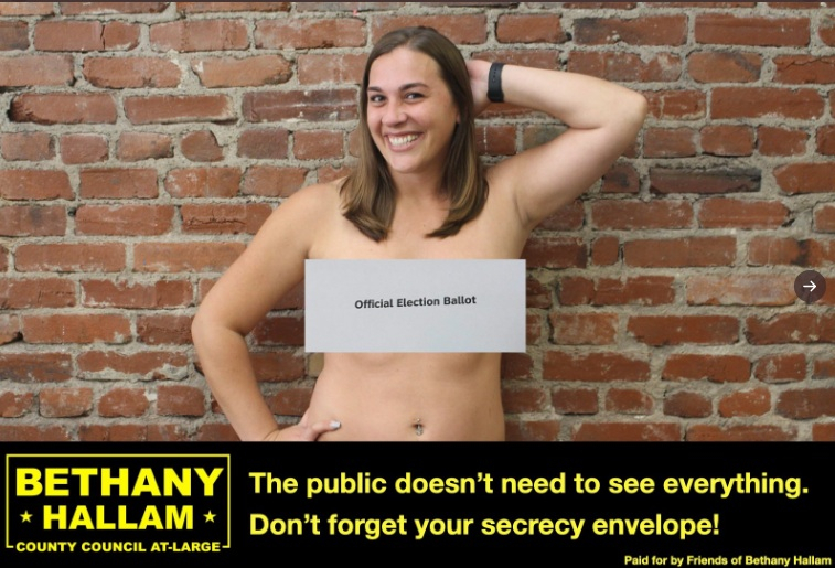 Pennsylvania Lawmakers Pose Topless to Remind Voters