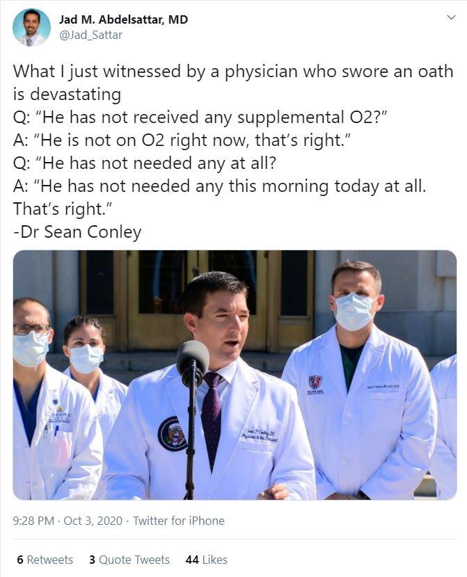 Dr Sean Conley
