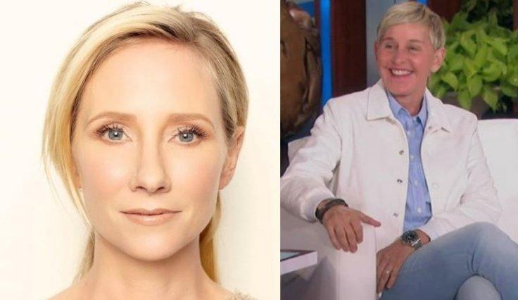 Anne Heche Ellen DeGeneres