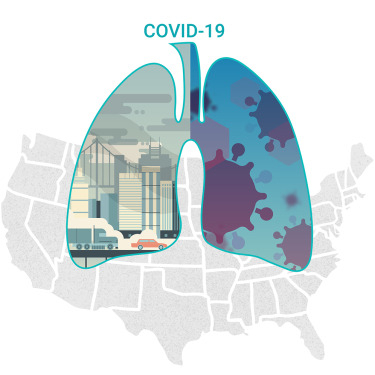Lungs Pollution