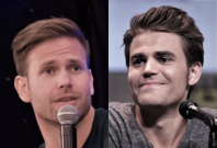 Matthew David and Paul Wesley