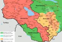 Nagorno-Karabak map