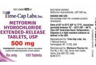 metformin hydrochloride extended-release tablets