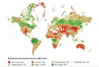 Global SRI BES Index map